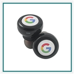 Origaudio Kronies True Wireless Earbuds with Custom Embroidery, Origaudio Custom Bluetooth Headphones, Origaudio Corporate Logo Gear