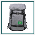 Origaudio Penryn Pack with Grey Top with Custom Embroidery, Origaudio Custom Backpacks, Origaudio Corporate Logo Gear