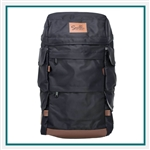 Origaudio Presidio Backpack with Custom Embroidery, Origaudio Custom Backpacks, Origaudio Corporate Logo Gear