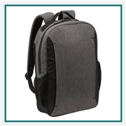 Port Authority Vector Backpack BG209 with Custom Embroidery, Port Authority Custom Backpacks, Port Authority Corporate Logo Gear