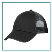 Port Authority Double Mesh Snapback Cap Custom