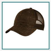 Port Authority  Pigment Print Mesh Back Cap with Custom Embroidery, Port Authority Custom Mesh Back Caps, Port Authority Custom Logo Gear