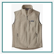 Patagonia M Classic Synchilla Fleece Vest Custom Embroidery