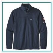 Patagonia Micro D 1/4 Zip Embroidered Logo