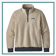 Patagonia Woolyester Fleece Pullover Embroidered Logo