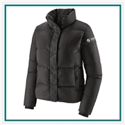 Patagonia Silent Down Jacket Embroidered