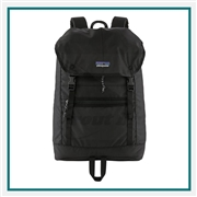 Patagonia Arbor Classic Pack 25L 47958 with Custom Embroidery, Patagonia Custom Water Resistant Backpacks, Patagonia Corporate Logo Gear