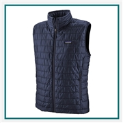 Patagonia Men's Nano Puff Vest Embroidered Logo