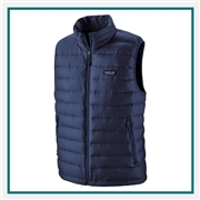 Patagonia M Down Sweater Vest Custom Logo