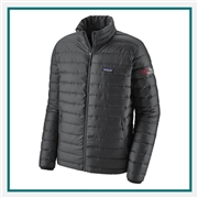 Patagonia M Down Sweater Jacket Custom Embroidery