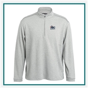 Pebble Beach Heathered 1/4 Zip Pullover Custom Embroidery
