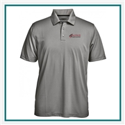 Pebble Beach Men's Jacquard Polo Corporate Logo