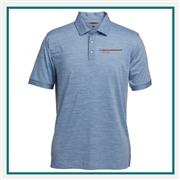 Pebble Beach Marled Polo Custom Embroidery