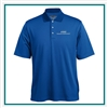 Pebble Beach M Tonal Check Polo Custom Logo
