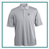 Pebble Beach Men's Grid Texture Polo Co-Branded