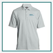 Pebble Beach Men's Embossed Jersey Polo with Custom Embroidery, Pebble Beach Custom Polos, Pebble Beach Custom Logo Gear
