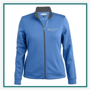 Pebble Beach Women's Full Zip Contrast Zipper Jacket with Custom Embroidery, Pebble Beach Custom Jackets, Pebble Beach Custom Logo Gear