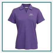 Pebble Beach Spacedyed Polo Custom Embroidered