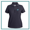 Pebble Beach Women's Cypress Polo with Custom Embroidery, Pebble Beach Custom Polos, Promo Polos