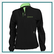 Pebble Beach Ladies Full Zip Woven Jacket Custom Logo