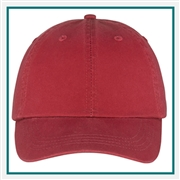 Port & Company Washed Twill Cap CP78 with Custom Embroidery, Port & Company CP78 Custom Embroidered, Port & Company Washed Twill Cap, Custom Logo Dry Zone Nylon Cap, Port & Company Embroidered Hats