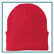 Port & Company Knit Cap Custom Embroidery