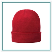Port & Company Fleece-Lined Knit Cap CP90L with Custom Embroidery, Port & Company CP90L Custom Embroidered, Port & Company Fleece-Lined Knit Cap, Custom Logo Fleece-Lined Knit Cap, Port & Company Embroidered Hats