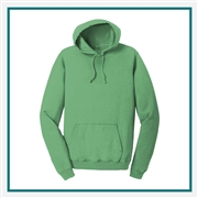 Port & Company Pigment-Dyed Pullover Hooded Sweatshirt PC098H with Custom Embroidery, Custom Embroidered Port & Company Sweatshirts, Port & Company PC098H Sweatshirt Best Price