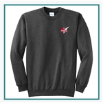 Port & Company Classic Crewneck Sweatshirt PC78 with Pocket PC78 with Silkscreen Logo, Custom Logo Port & Company Sweatshirts, Port & Company PC78H Sweatshirt Best Price
