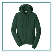 Port & Company Fan Favorite Fleece Full-Zip Hooded Sweatshirt PC850ZH with Pocket PC850ZH with Silkscreen Logo, Custom Logo Port & Company Sweatshirts, Port & Company PC850ZH Sweatshirt Best Price