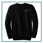 Port & Company Ultimate Crewneck Sweatshirt PC90 with Pocket PC90 with Silkscreen Logo, Custom Logo Port & Company Sweatshirts, Port & Company PC90 Sweatshirt Best Price