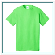 Port & Company Cotton T-Shirt Custom Logo