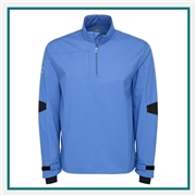 Callaway Men's 1/4 Zip Wind Shirt with Custom Embroidery, Callaway Branded Golf Wind Shirts