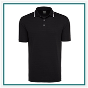 Callaway Men's Raised Ottoman Polo with Custom Embroidery, Callaway Branded Golf Polos