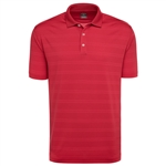 Callaway Men's Horizontal Textured Polo with Custom Embroidery, Callaway Branded Golf Polos