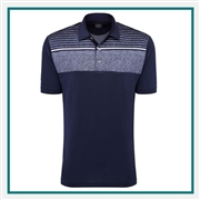 Callaway Men's Chest Print Polo with Custom Embroidery, Callaway Branded Golf Polos