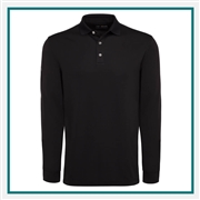 Callaway Men's LS Core Performance Polo with Custom Embroidery, Callaway Branded Golf Polos