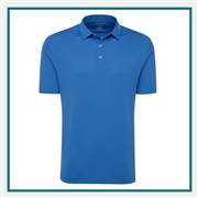 Callaway Men's Birdseye Polo with Custom Embroidery, Callaway Branded Golf Polos