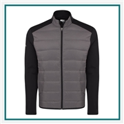 Callaway Men's Ultrasonic Quilted Jacket with Custom Embroidery, Callaway Branded Golf Jackets