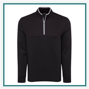 Callaway Men's Ottoman 1/4 Zip Pullover with Custom Embroidery, Callaway Branded Golf Pullovers