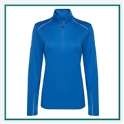 Callaway Ladies 1/4-Zip Water Repellent Pullover CGW545 with Custom Embroidery, Callaway Custom Embroidered Golf Pullovers, Callaway Custom Pullovers, Embroidered Callaway Pullovers