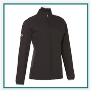 Callaway Ladies Full-Zip Wind Jacket CGW585 with Custom Embroidery, Callaway Custom Embroidered Golf Jackets, Callaway Custom Jackets, Embroidered Callaway Jackets