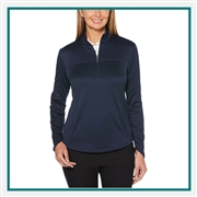 Callaway Ladies Ottoman 1/4-Zip Pullover CGW704with Custom Embroidery, Callaway Custom Embroidered Golf Pullovers, Callaway Custom Pullovers, Embroidered Callaway Pullovers