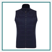 Callaway Ladies Ultrasonic Quilted Vest CGW545 with Custom Embroidery, Callaway Custom Embroidered Golf Vests, Callaway Custom Vests, Embroidered Callaway Vests
