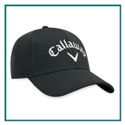 Callaway Men's Performance Side Crested Structured Hat 5217285 with Custom Embroidery, Callaway Custom Hats, Callaway Corporate Logo Gear