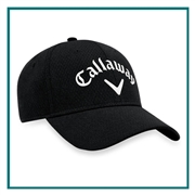 Callaway Men's Performance Side Crested Unstructured Hat 5217331 with Custom Embroidery, Callaway Custom Hats, Callaway Corporate Logo Gear
