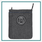 Callaway Clubhouse Valuables Pouch Custom Embroidery