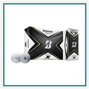 Bridgestone Tour B X Golf Balls Custom Logo