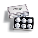 Titleist/Pinnacle Packedge Custom Foil Half-Dozen Pro V1 with Sleeves or Foam with Custom Logo, Titleist/Pinnacle Box Set Golf Balls, Titleist/Pinnacle Corporate Golf Balls
