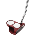 Odyssey O-Works Red 2-Ball Putter with Custom Logo